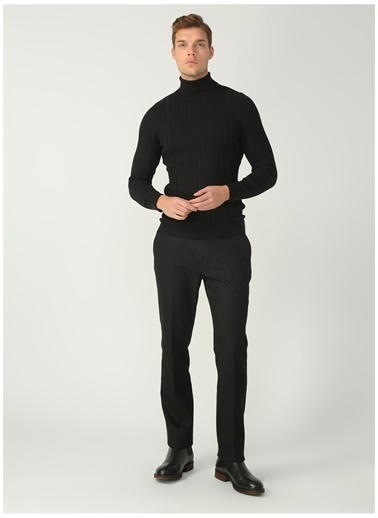 Fabrika Comfort Fabrika Comfort  Düz Siyah Klasik Pantolon Siyah